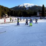 Sciare bambini giusta pendenza